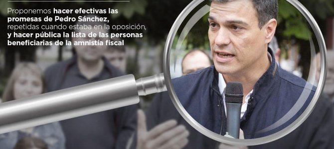 El PSOE tiene que elegir en qué bando quiere estar, con los ciudadanos o con los defraudadores
